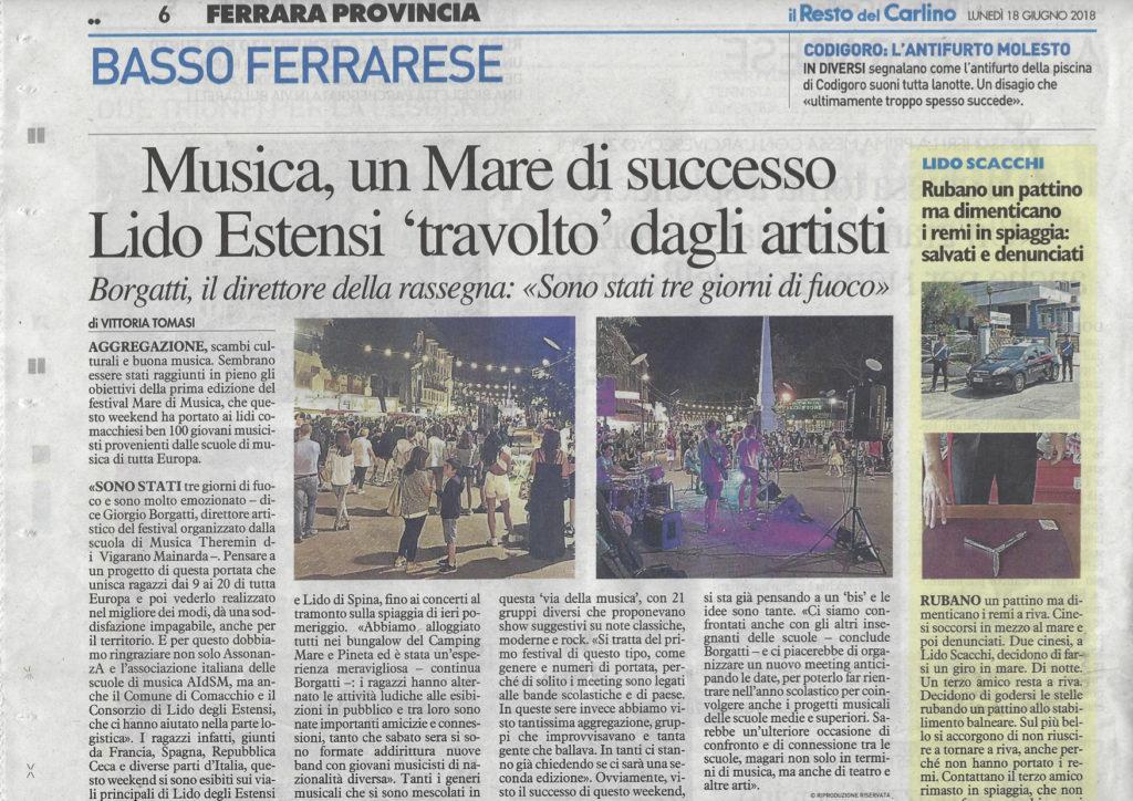 Festival Mare di Musica - Un grande successo