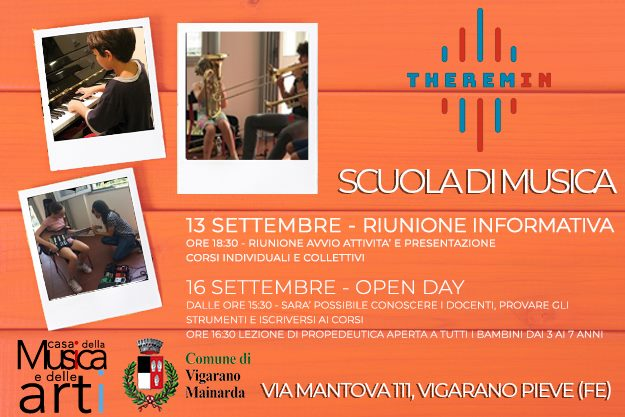 Riunione Info e OPEN DAY