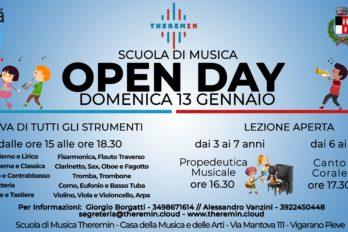 13 Gennaio 2018 – Open Day