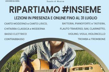 RIPARTIAMO #INSIEME